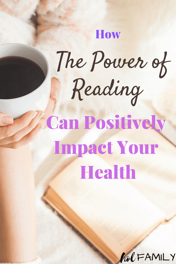 The power of reading can positively impact your health