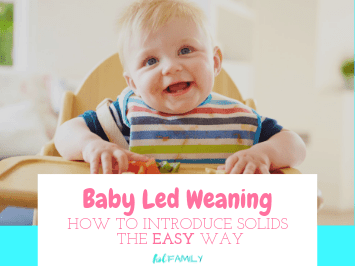 Baby led weaning: How to Introduce Solids the Easy Way