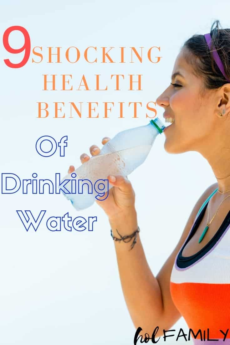 9 Shocking Health Benefits of Drinking Water