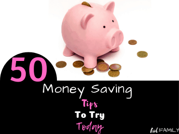 50 Money Saving Tips to Try Today