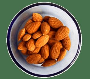 Almonds source of calcium