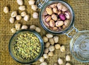 Dried beans good source of magnesium for bone health