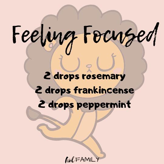 Feeling Focused