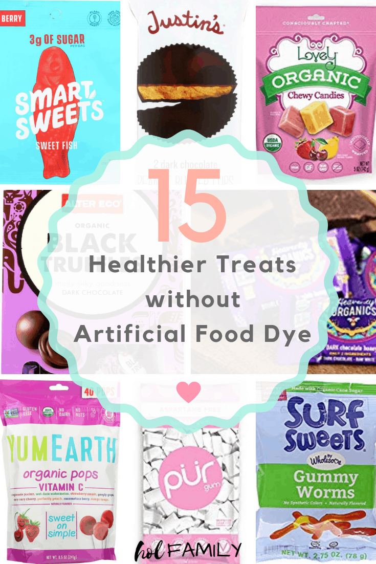 15 Healthier Treats without Artificial Food Dye