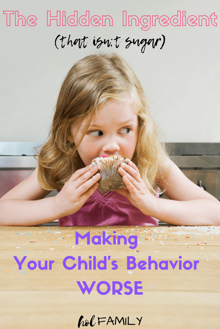 Hidden Ingredients Behind Childhood Behavior