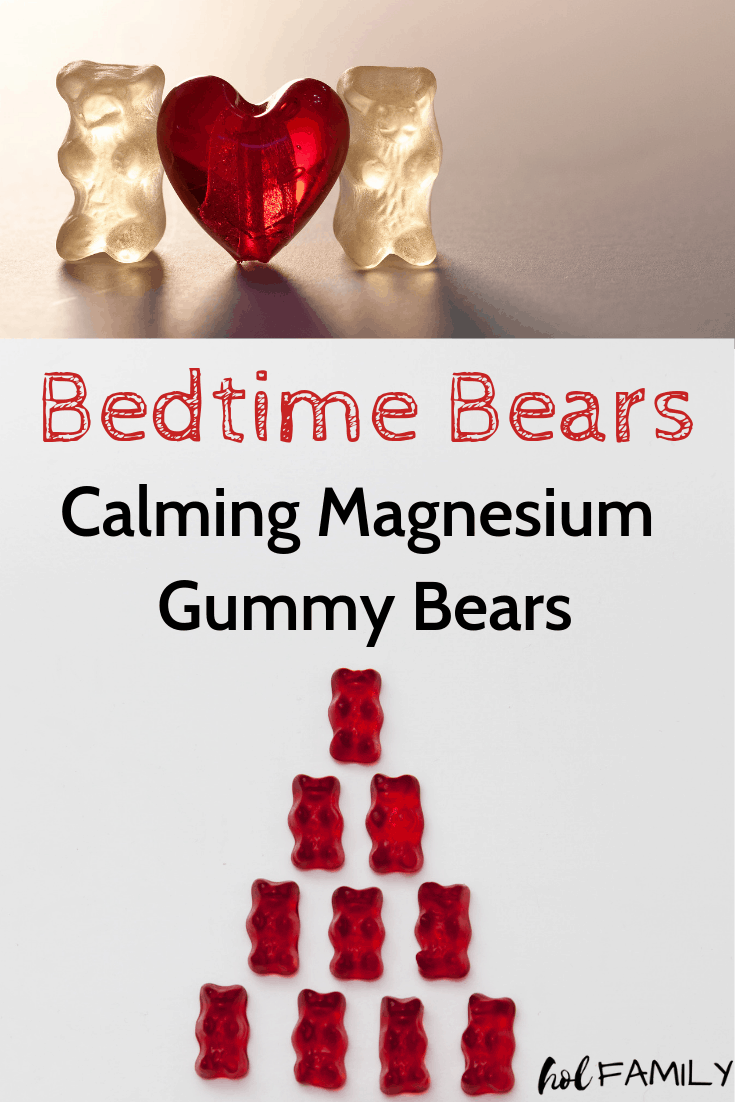 Bedtime Bears: Calming Magnesium Gummy Bears