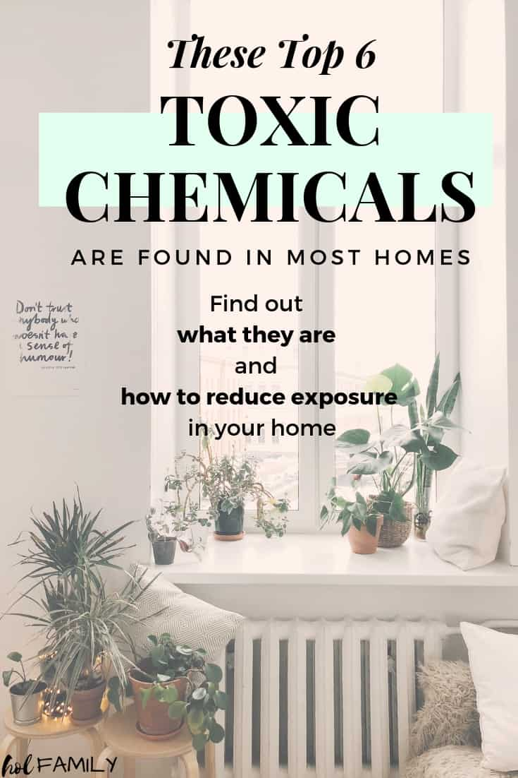 The top 6 toxic chemicals lurking in your home