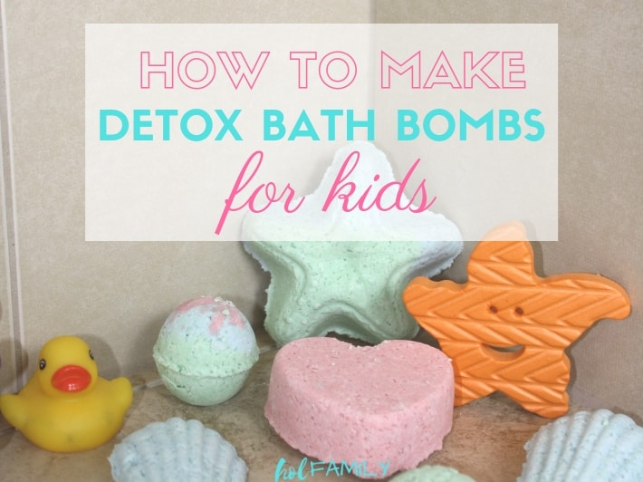 DIY Detox Bath Bombs for Kids