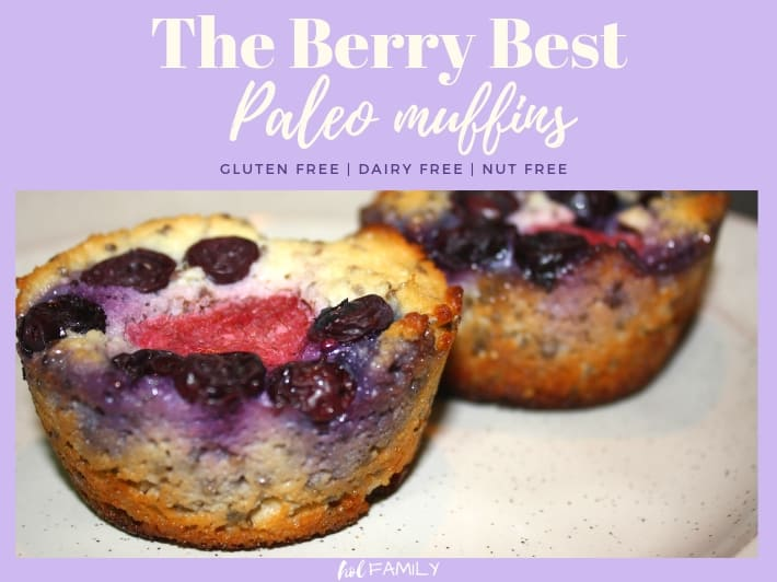 The berry best paleo muffins
