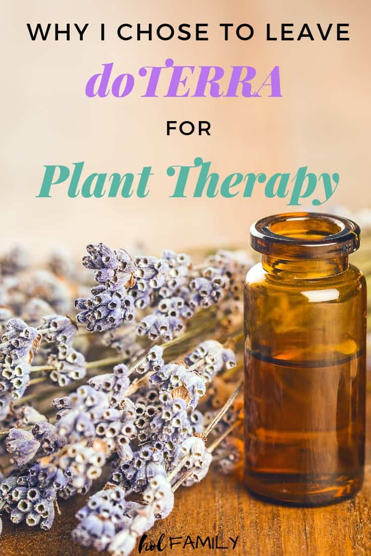 Why I chose to leave doTERRA for Plant Therapy
