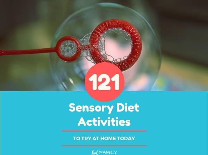 121 Sensory Diet Activities