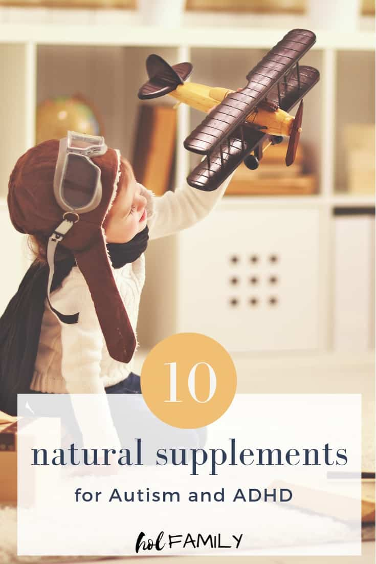 10 natural supplements for Autism and ADHD