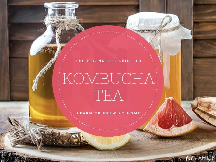 The Beginner's Guide to Kombucha