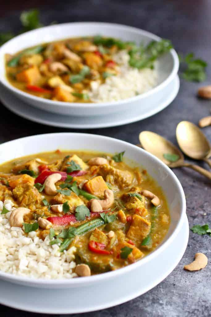 Instant Pot Grain Free Chicken Curry