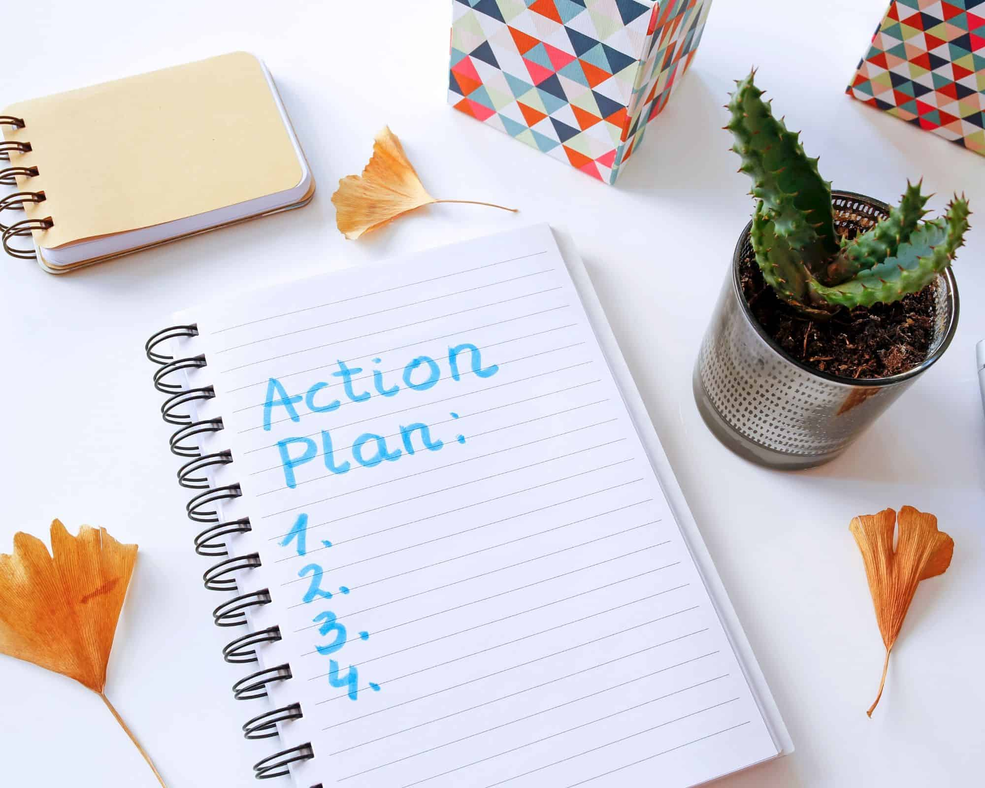 Action Plan for Scheduling