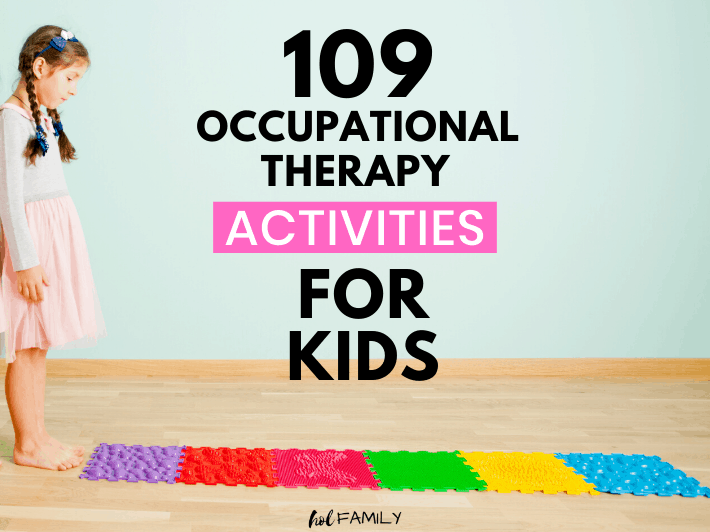 Occupational Therapy Activities for Kids