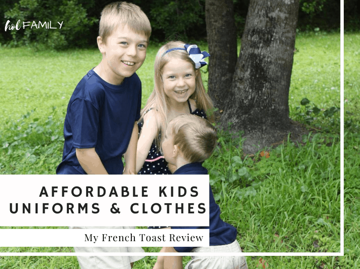 French Toast Uniforms for Kids