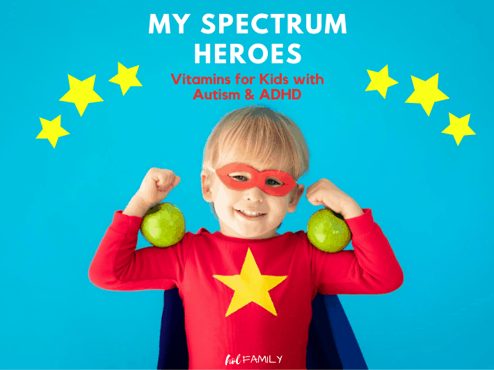My Spectrum Heroes Vitamins for Autism and ADHD